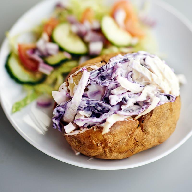 Photo of Jacket potato & fruity coleslaw by WW