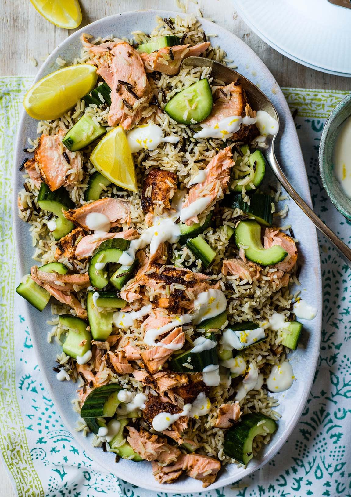 Photo of Spiced salmon & rice salad by WW