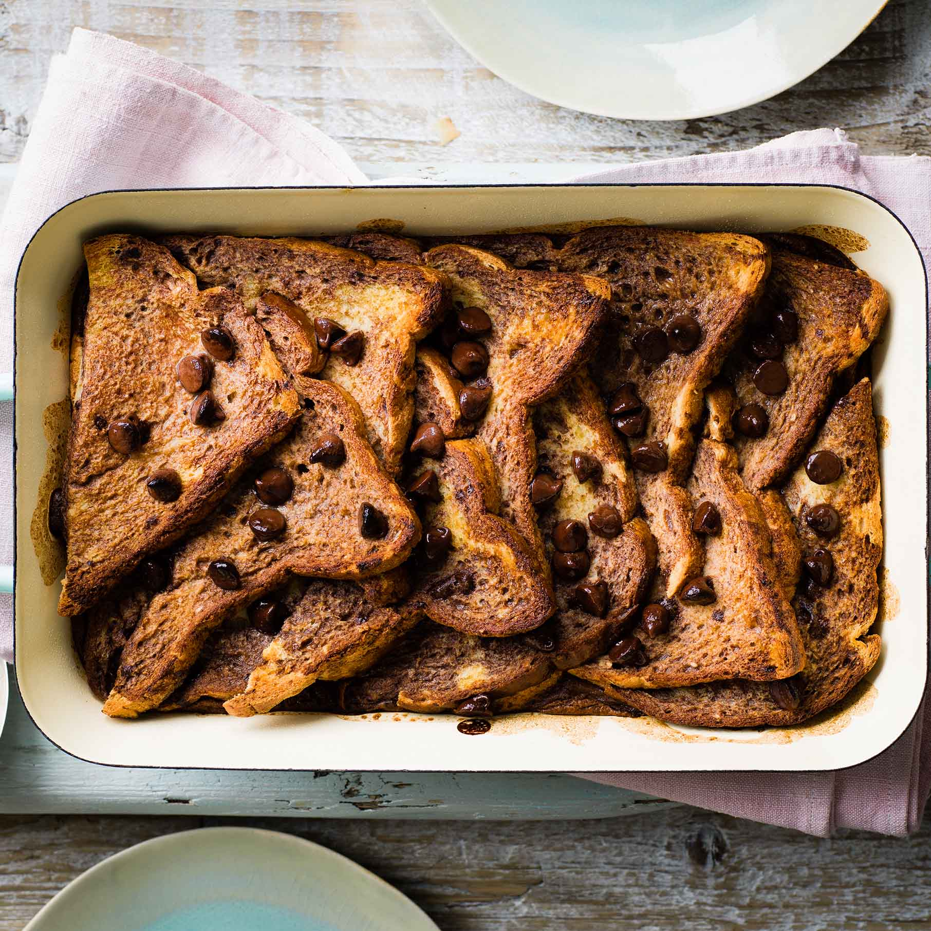 Photo of Chocolate bread & butter pudding by WW
