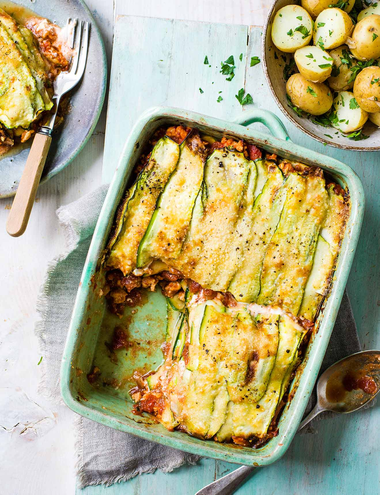 Photo of Courgette & turkey lasagne by WW