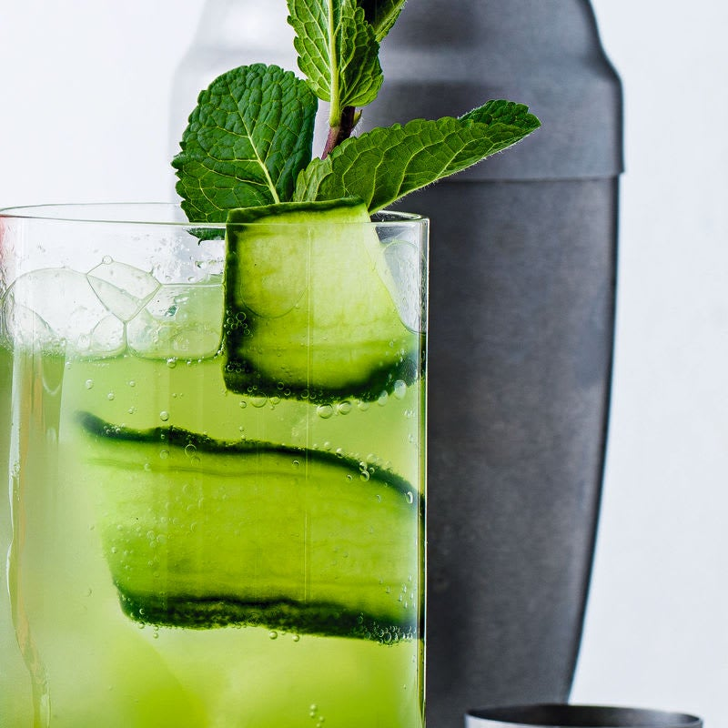 Photo of Herb & cucumber cooler by WW