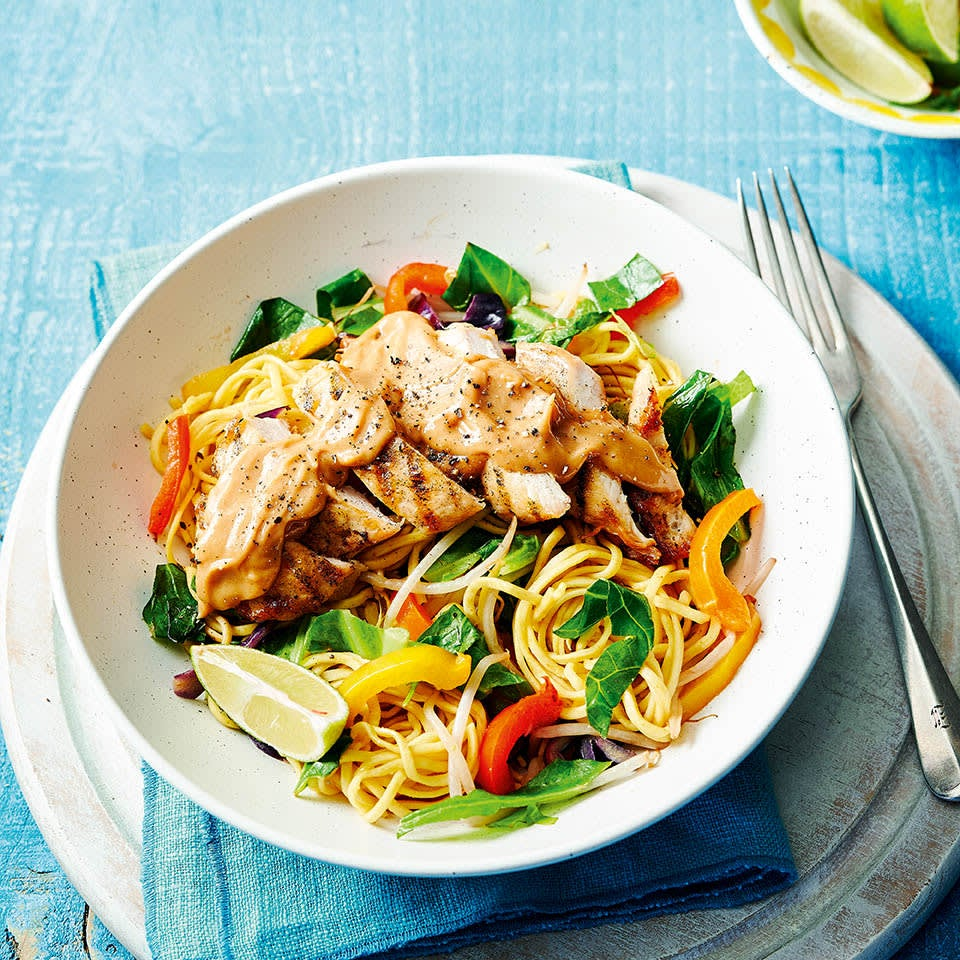 Photo of Satay chicken noodle bowl by WW