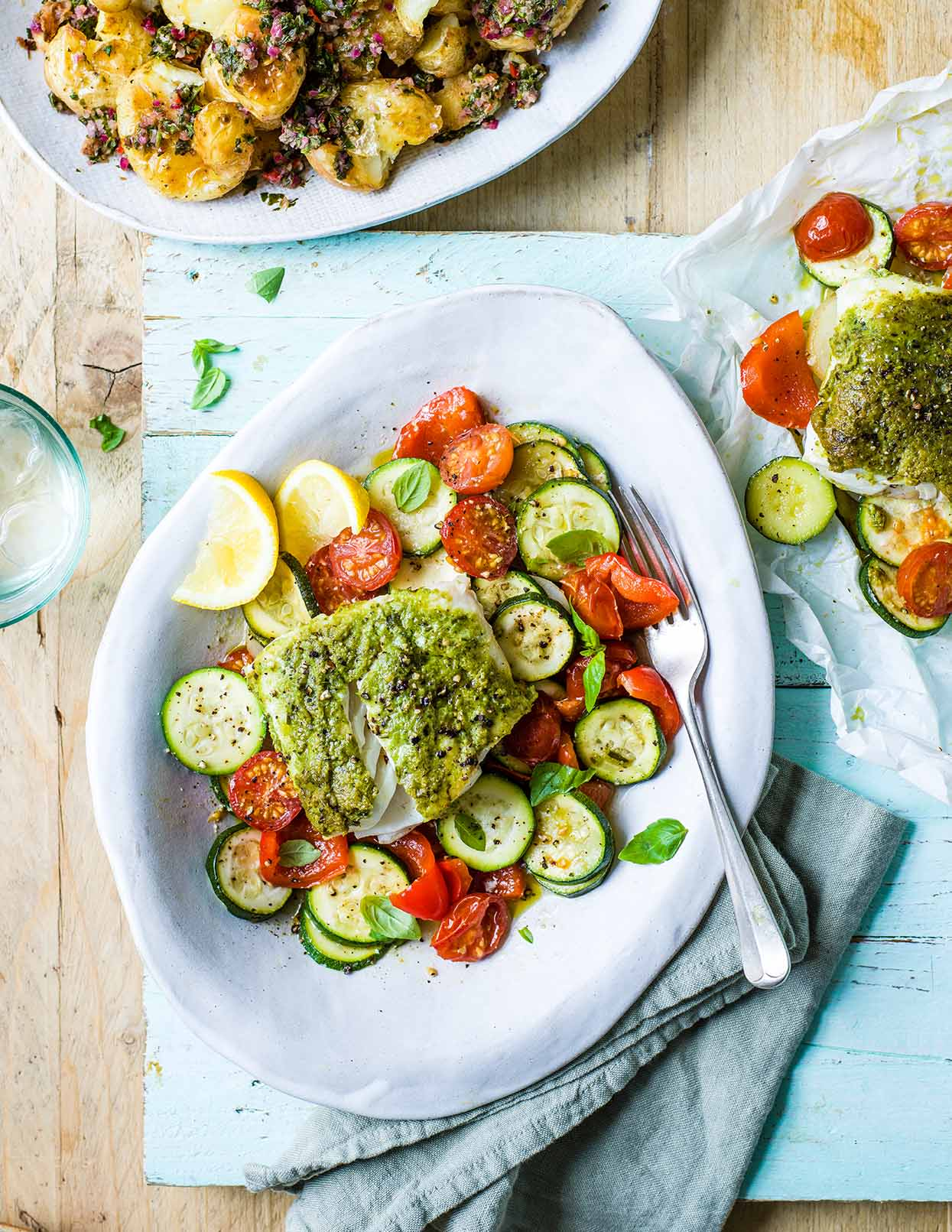 Photo of Pesto fish parcels by WW