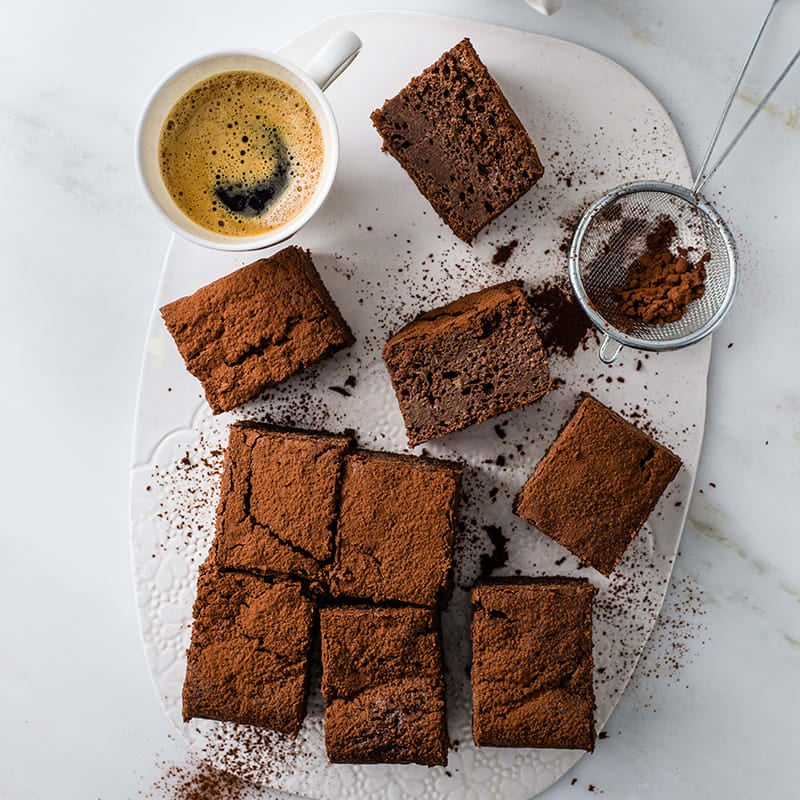 Photo of Choc-chip courgette brownie by WW
