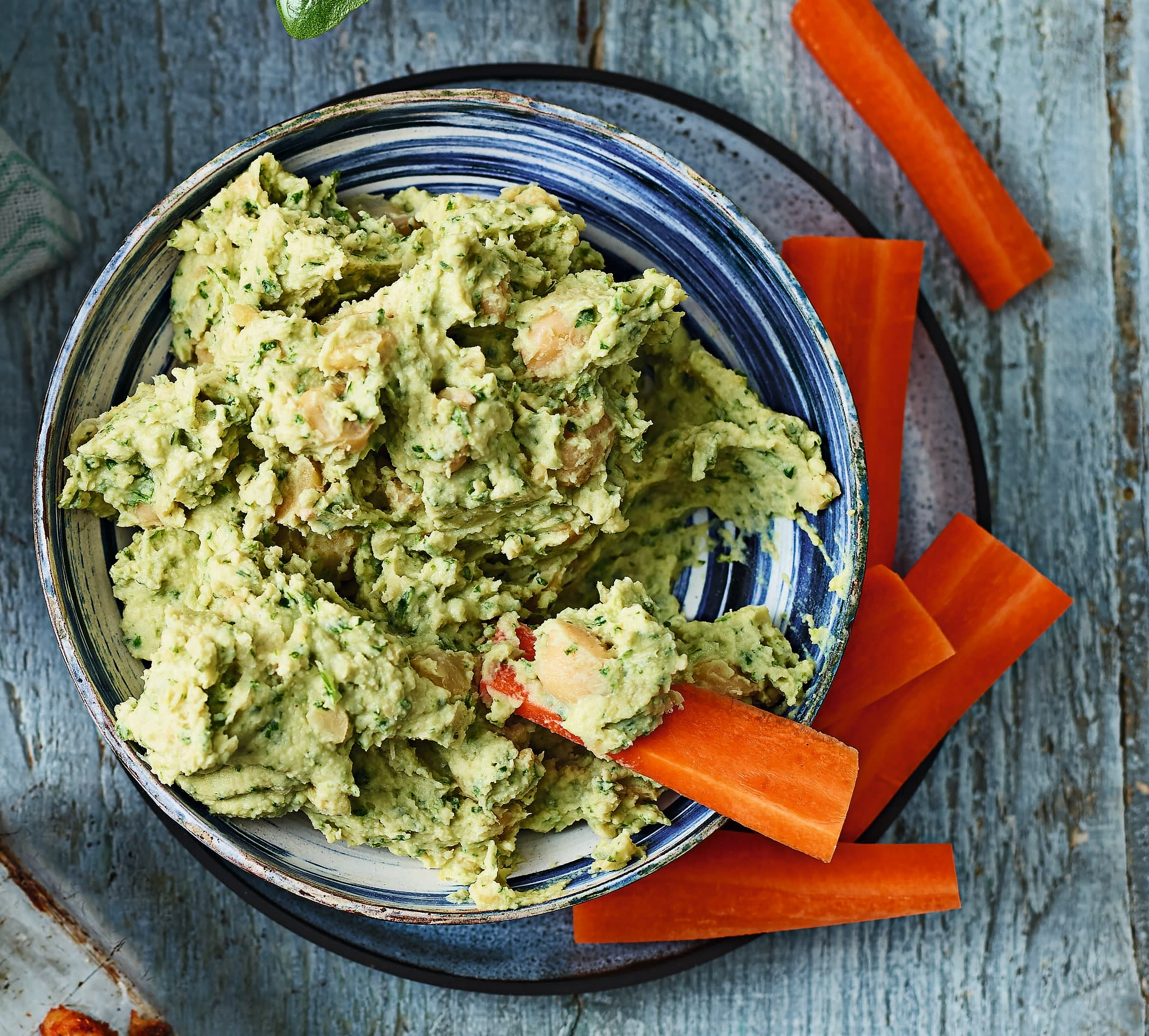 Photo of Coriander &  lime houmous by WW