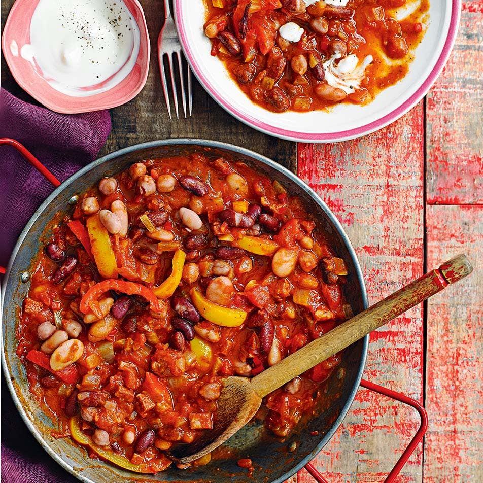 Photo of Chorizo bean stew by WW