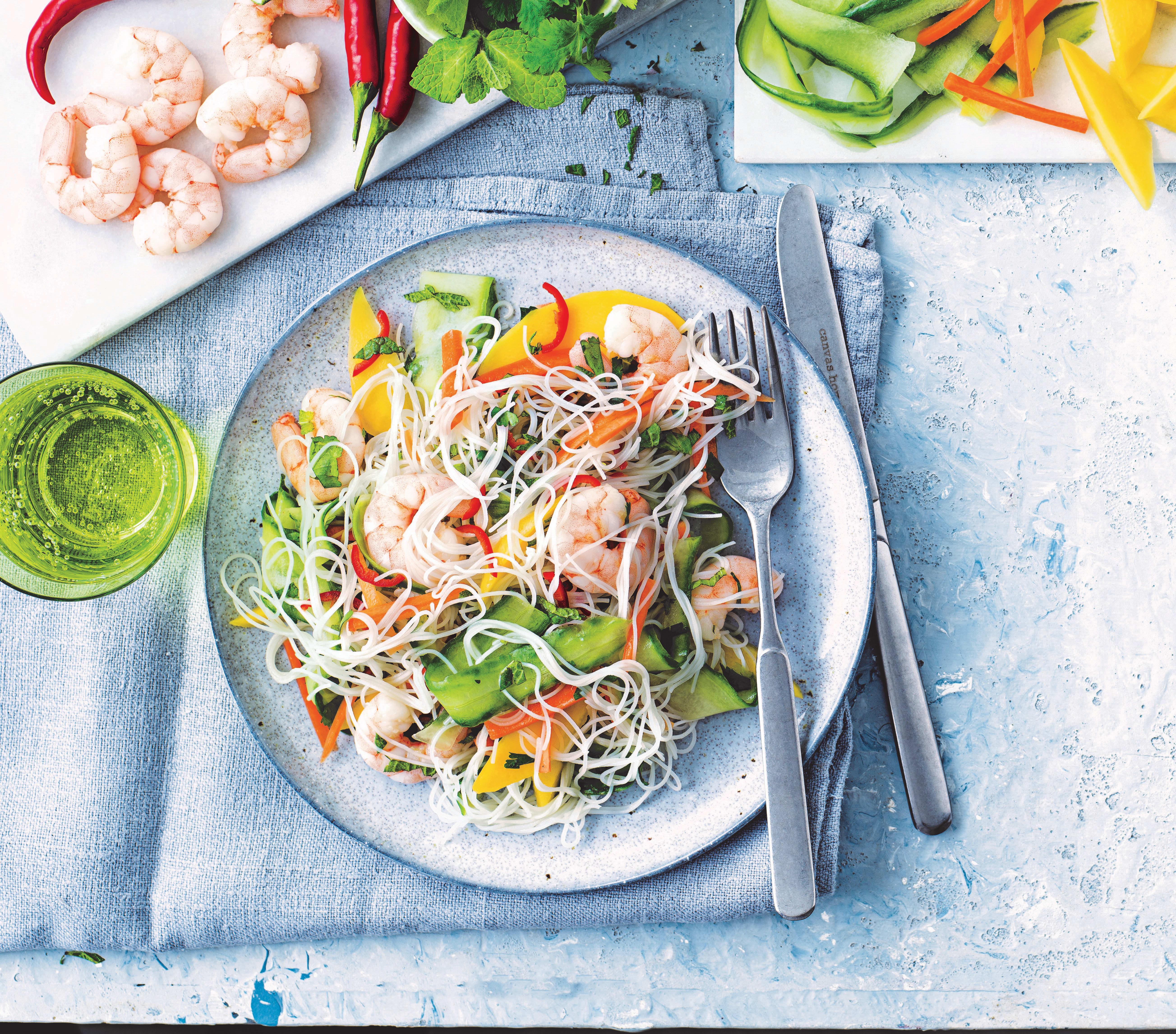 Photo of Chilli prawn noodle salad by WW