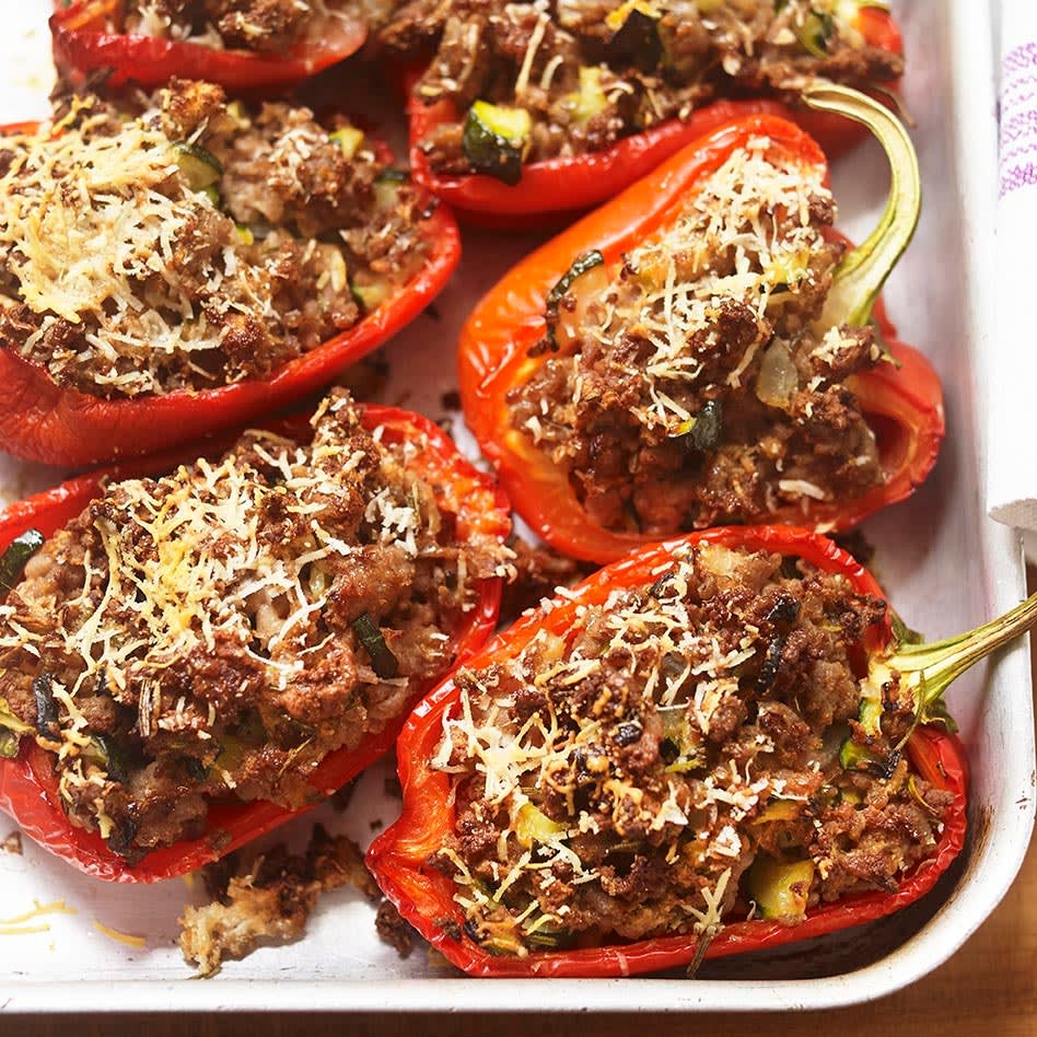 Photo of Pork-stuffed peppers by WW