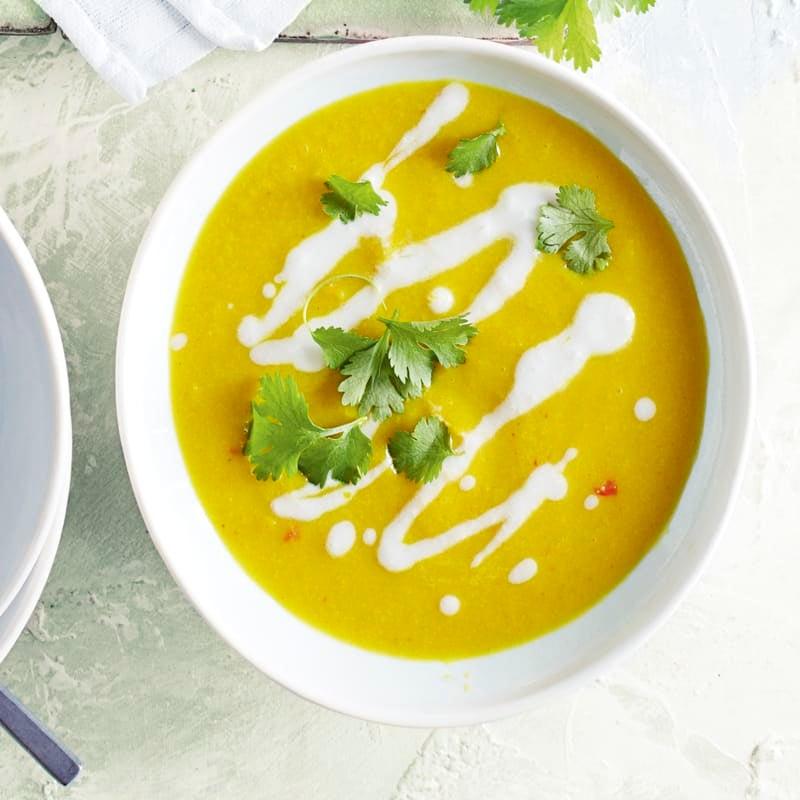 Photo of Cauliflower, coconut & turmeric soup by WW