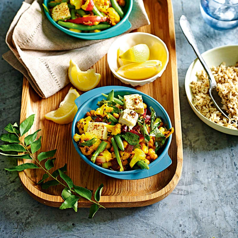 Photo of Indian-style vegetable stir-fry by WW