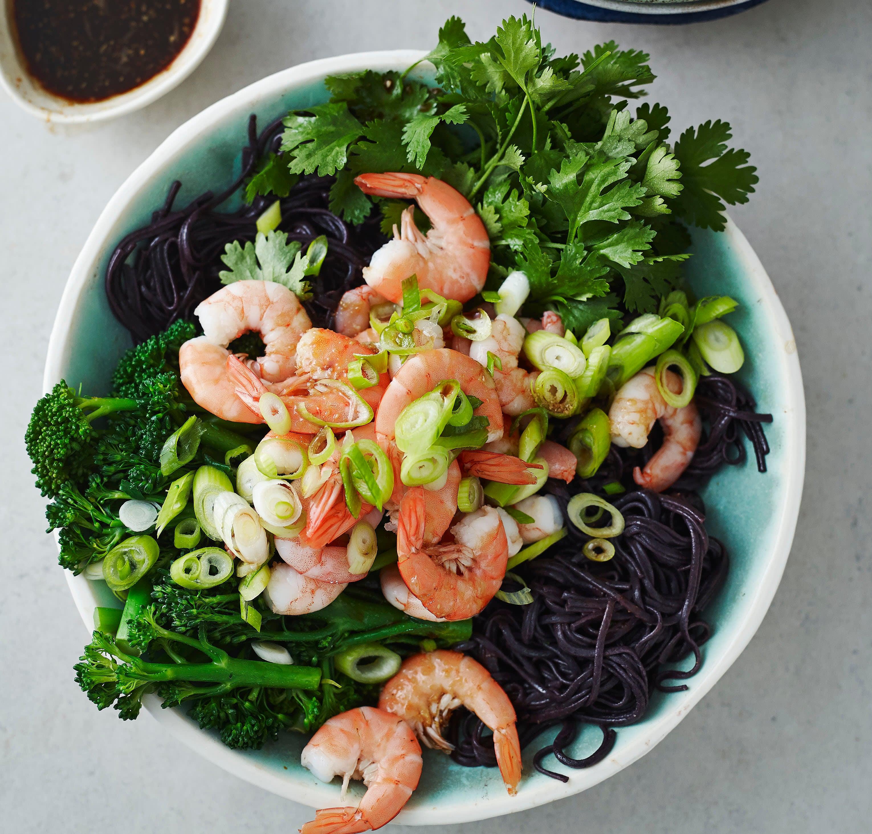 Photo of Prawn, broccoli & rice noodle salad by WW