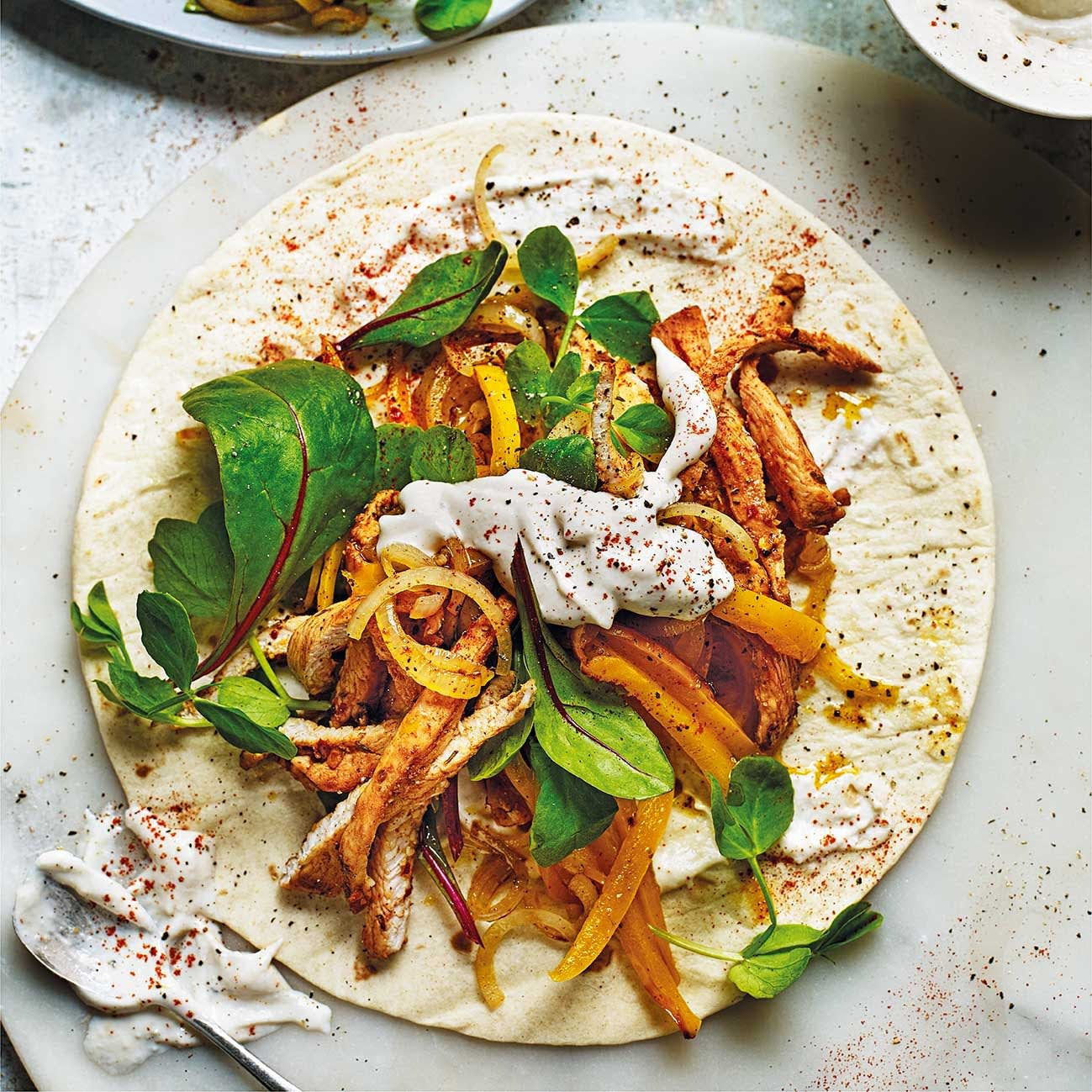 Photo of Piri piri chicken wrap by WW