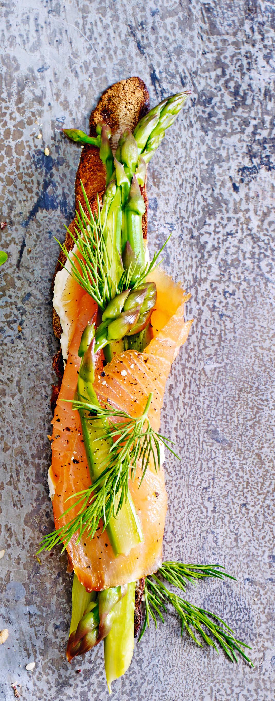 Photo of Smoked salmon & asparagus bruschetta by WW