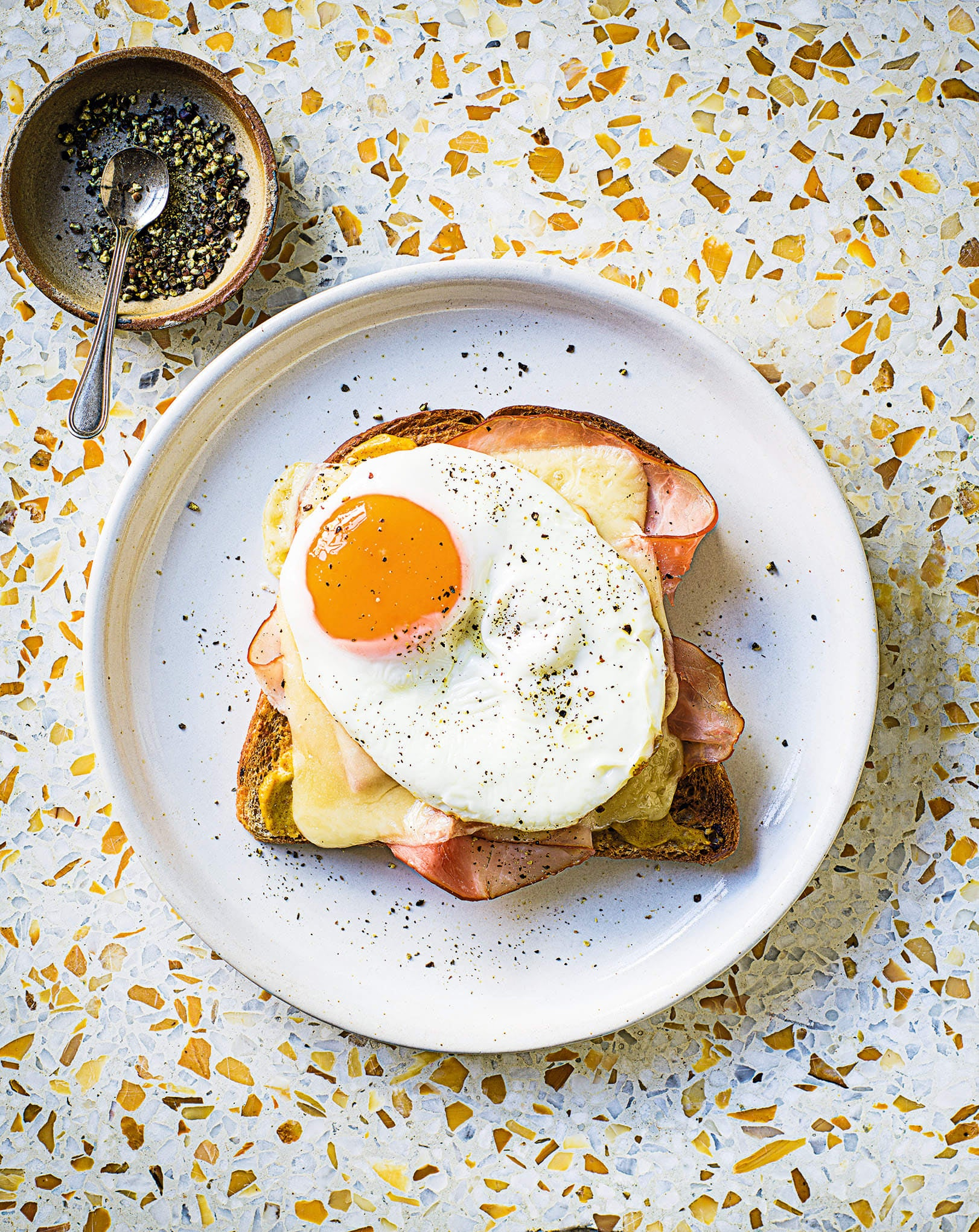 Photo of Instant croque madame by WW