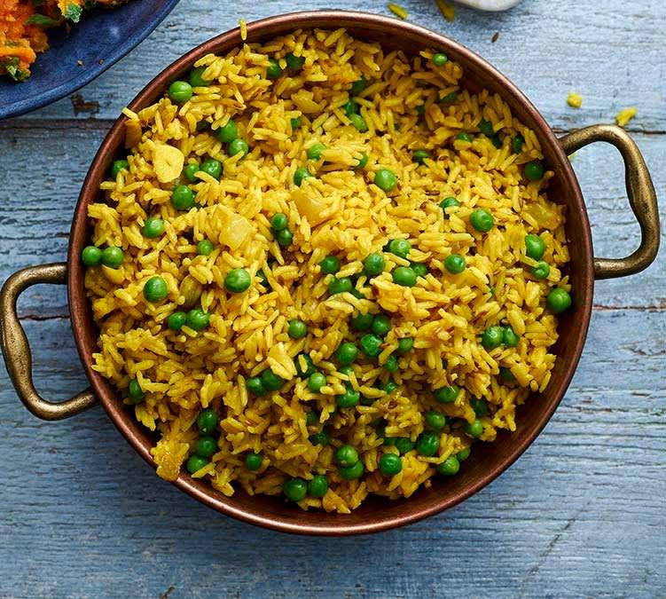 Photo of Pilau rice with peas by WW