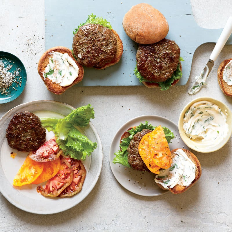 Photo of Beef & portobello burgers by WW