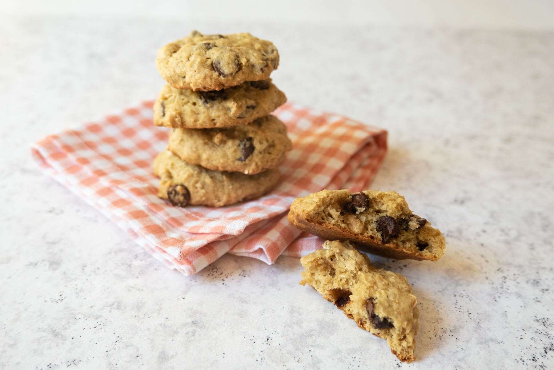 Photo of Chocolate chip & walnut cookies by WW