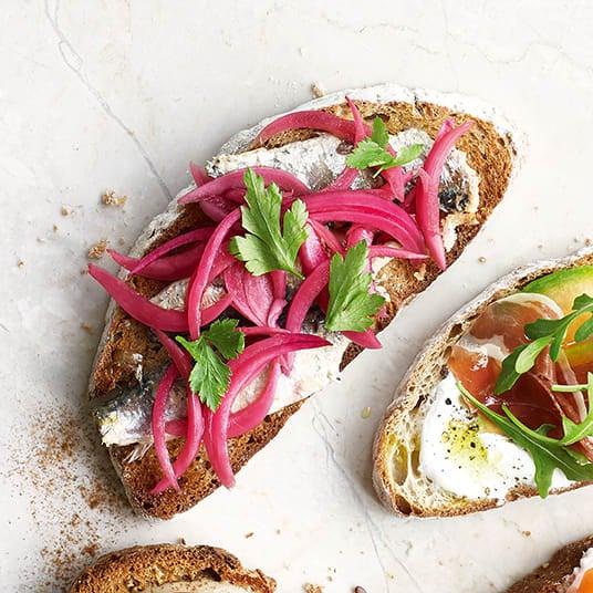 Photo of Sardine toast topper by WW