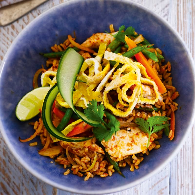 Photo of Thai fried rice with chicken by WW