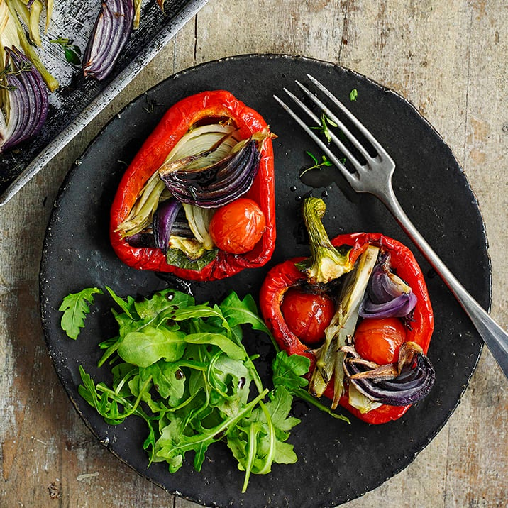 Photo of Fennel-roasted peppers by WW