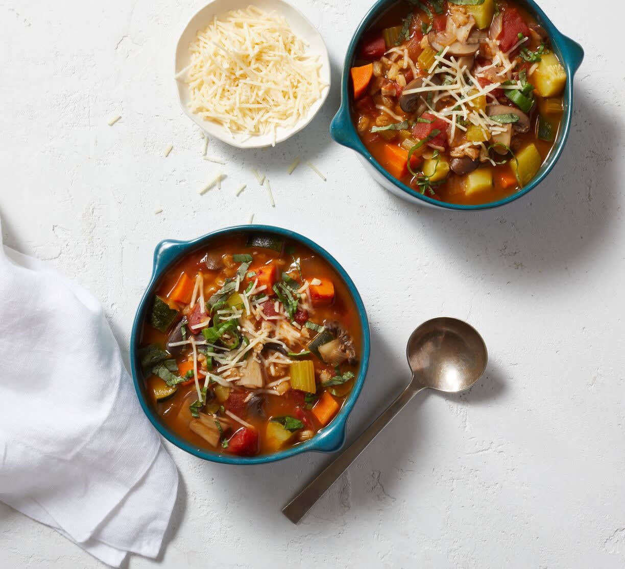 Photo of Italian vegetable soup by WW