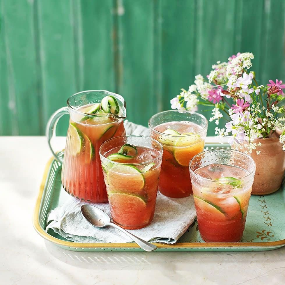 Photo of Cucumber & watermelon agua fresca by WW