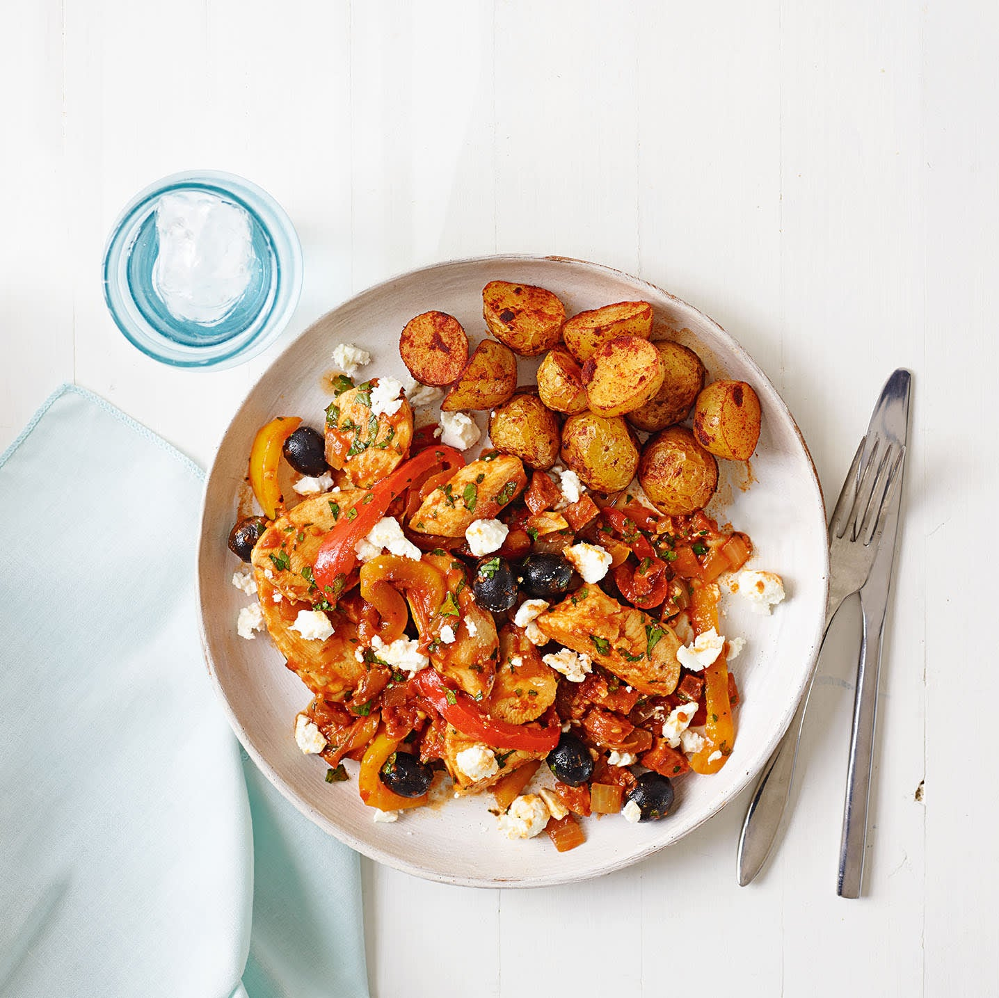 Photo of Chicken & chorizo with roasted mini potatoes by WW