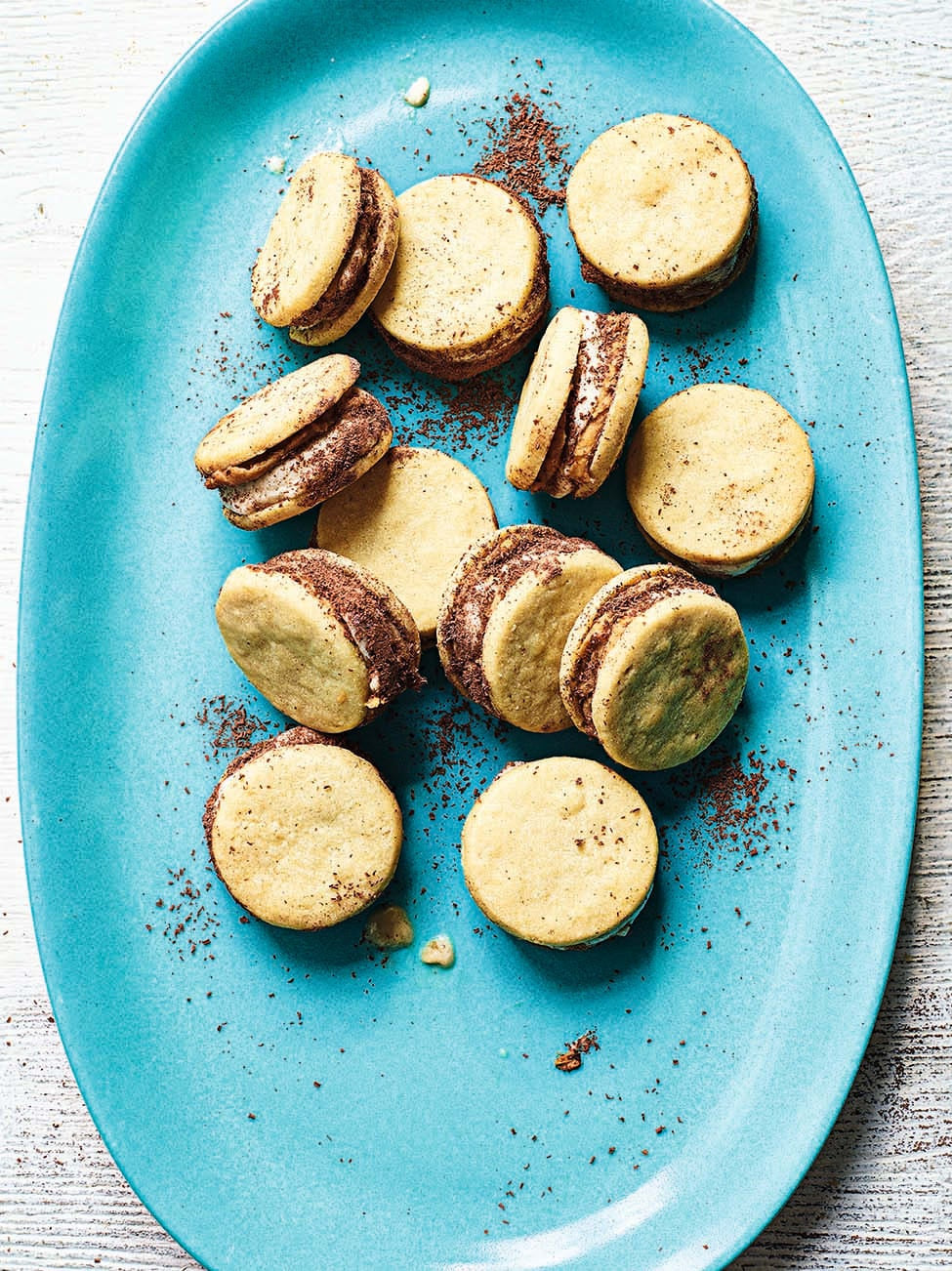Photo of Peanut butter & banana ice-cream sandwiches by WW