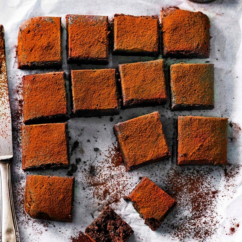 Photo of Chocolate fudge brownies by WW