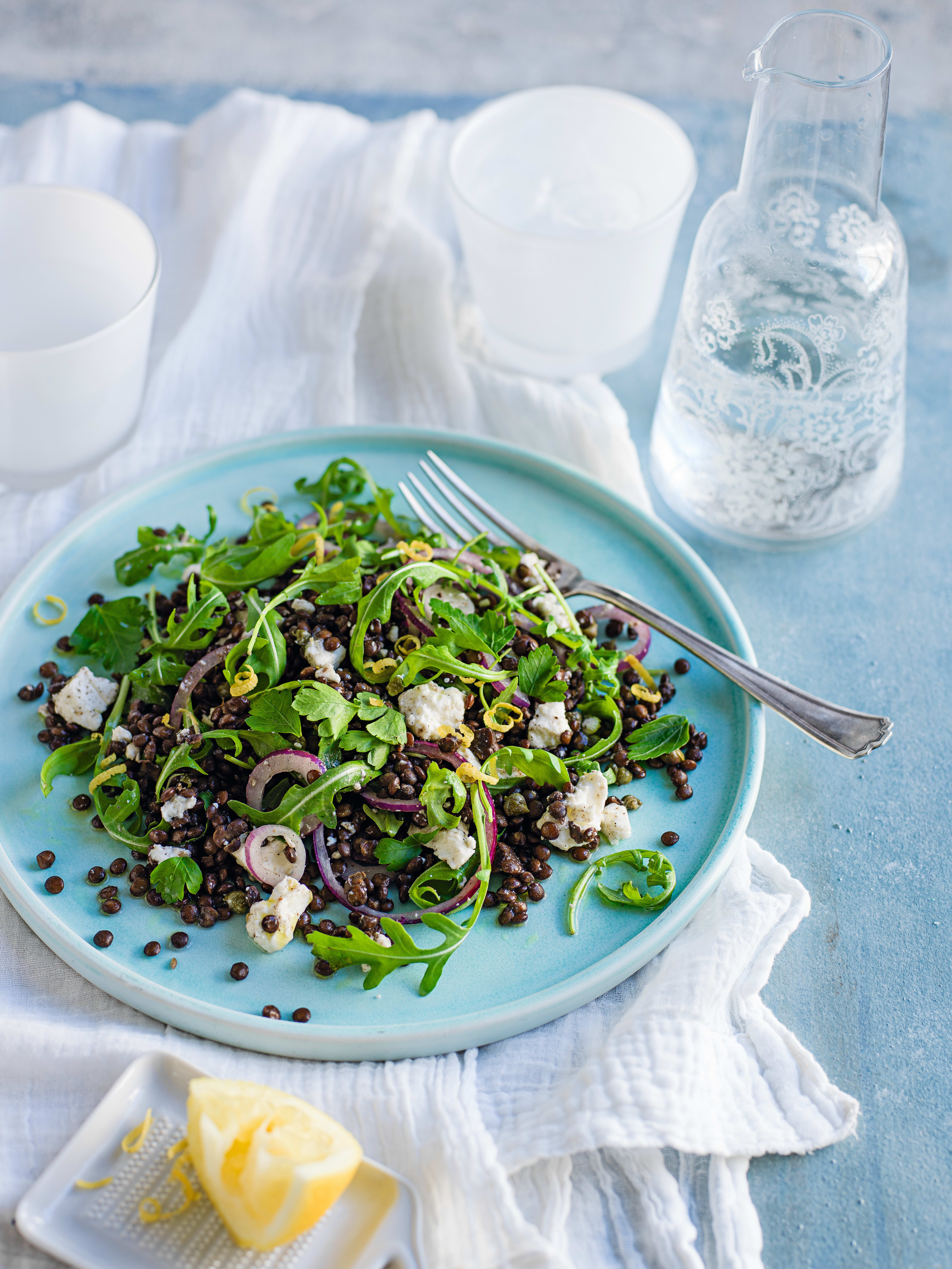 Photo of Summer lentil salad by WW