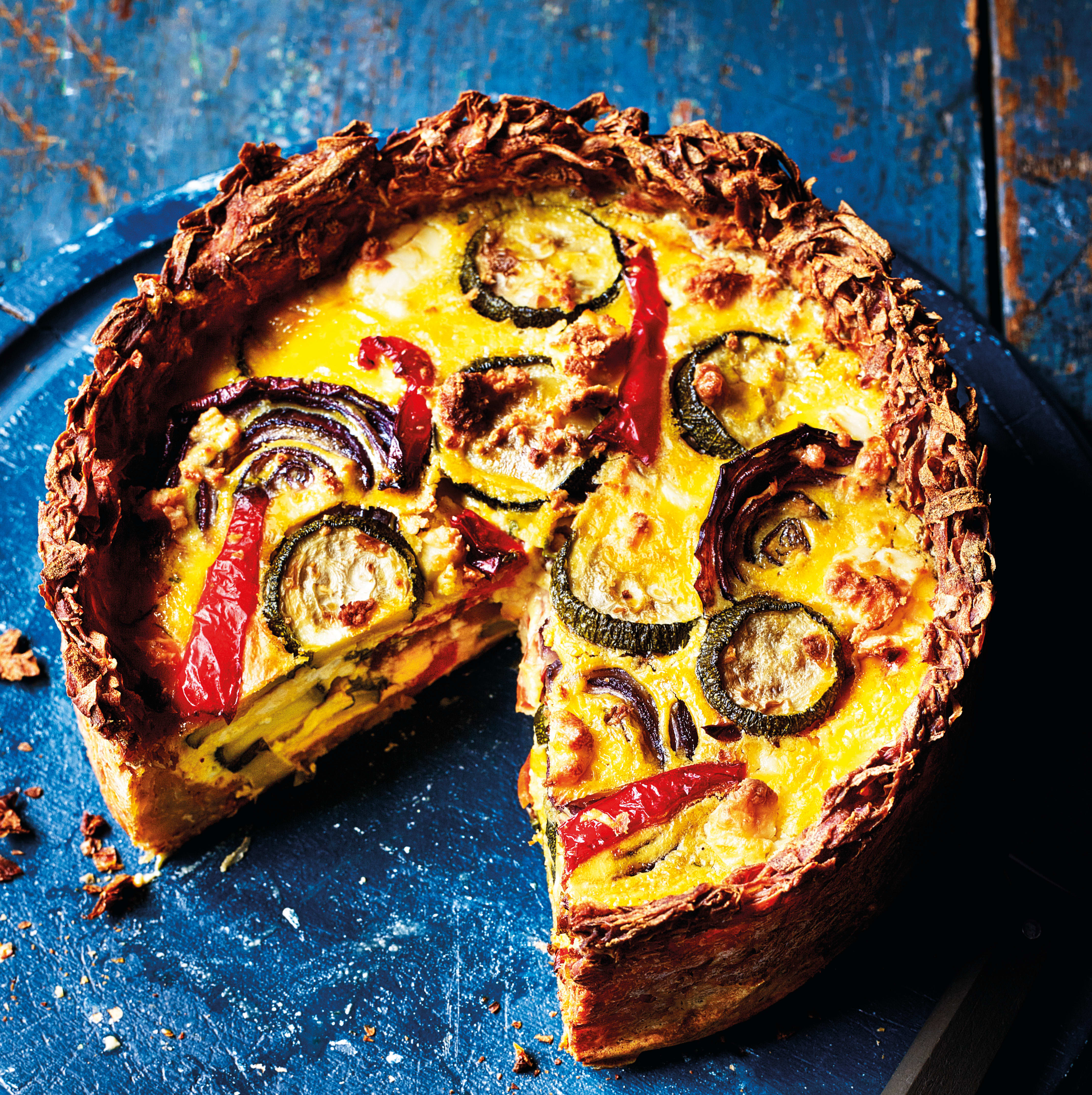 Photo of Roasted vegetable quiche by WW