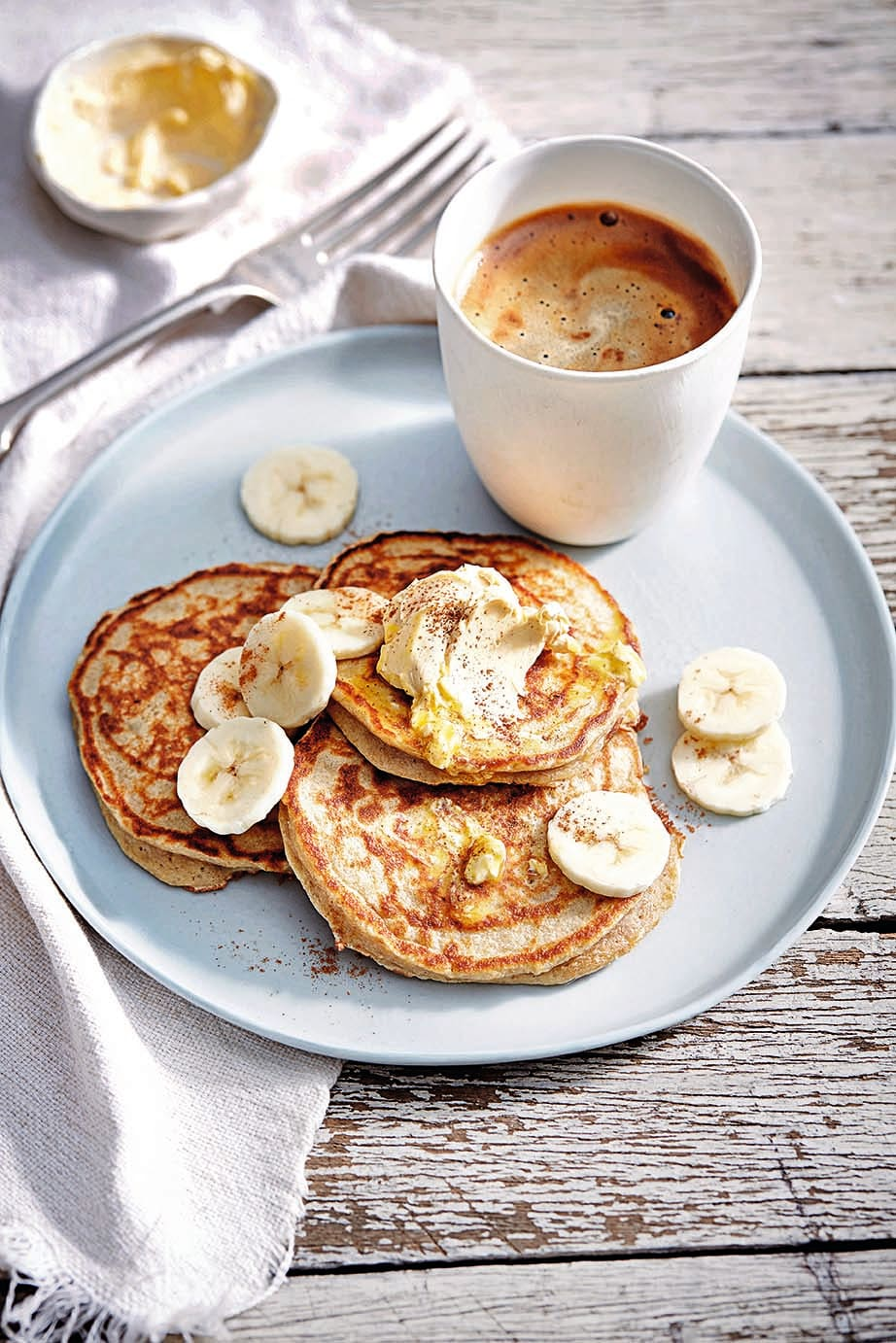 Photo of 3-ingredient pancakes by WW