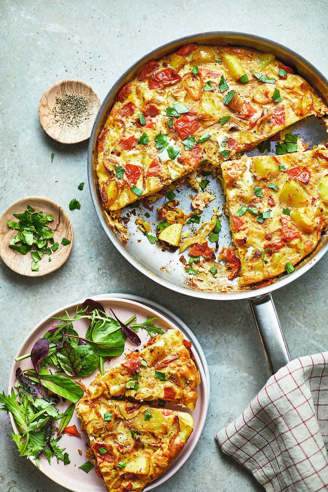 Photo of Bombay potato frittata by WW