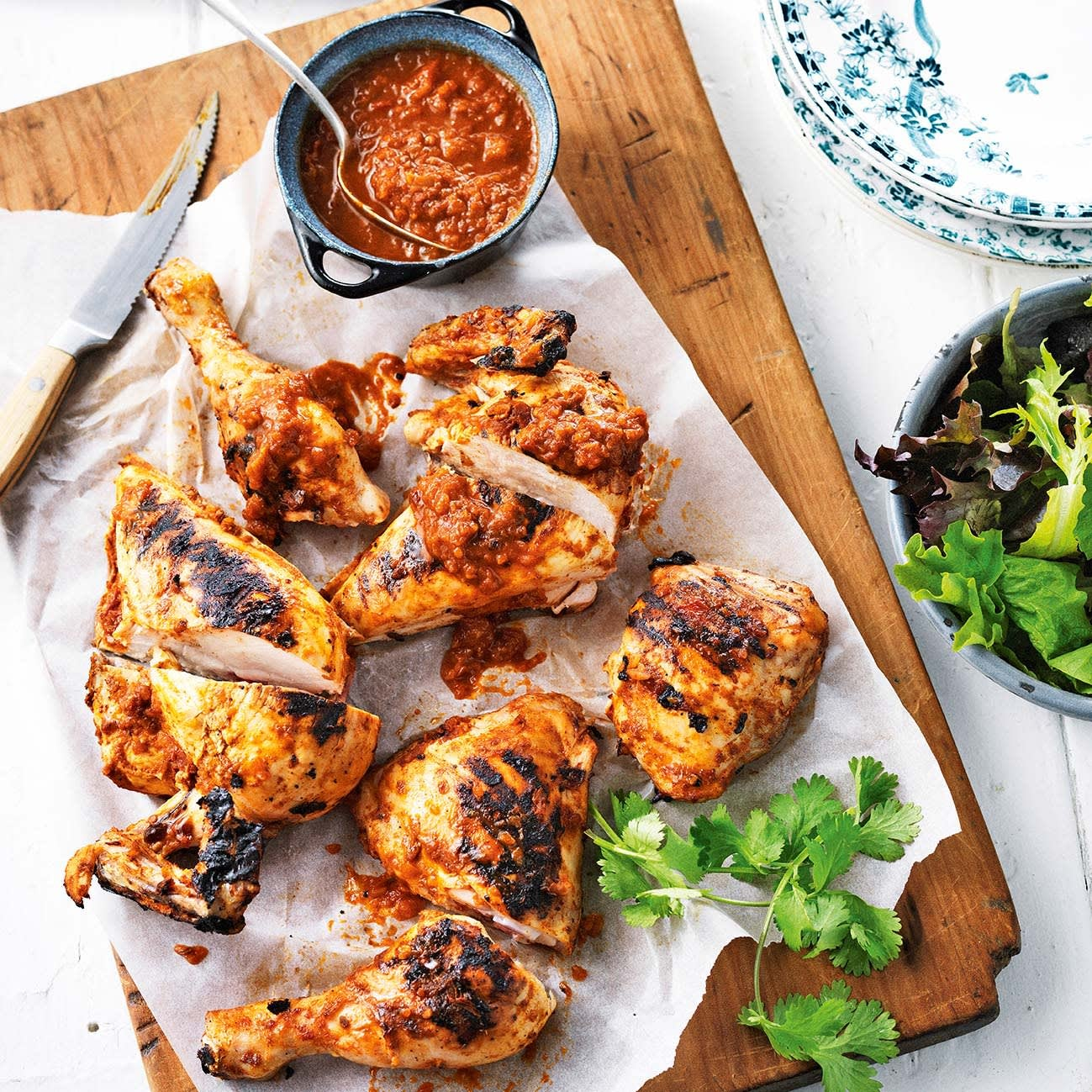 Photo of Barbecued chicken adobo by WW
