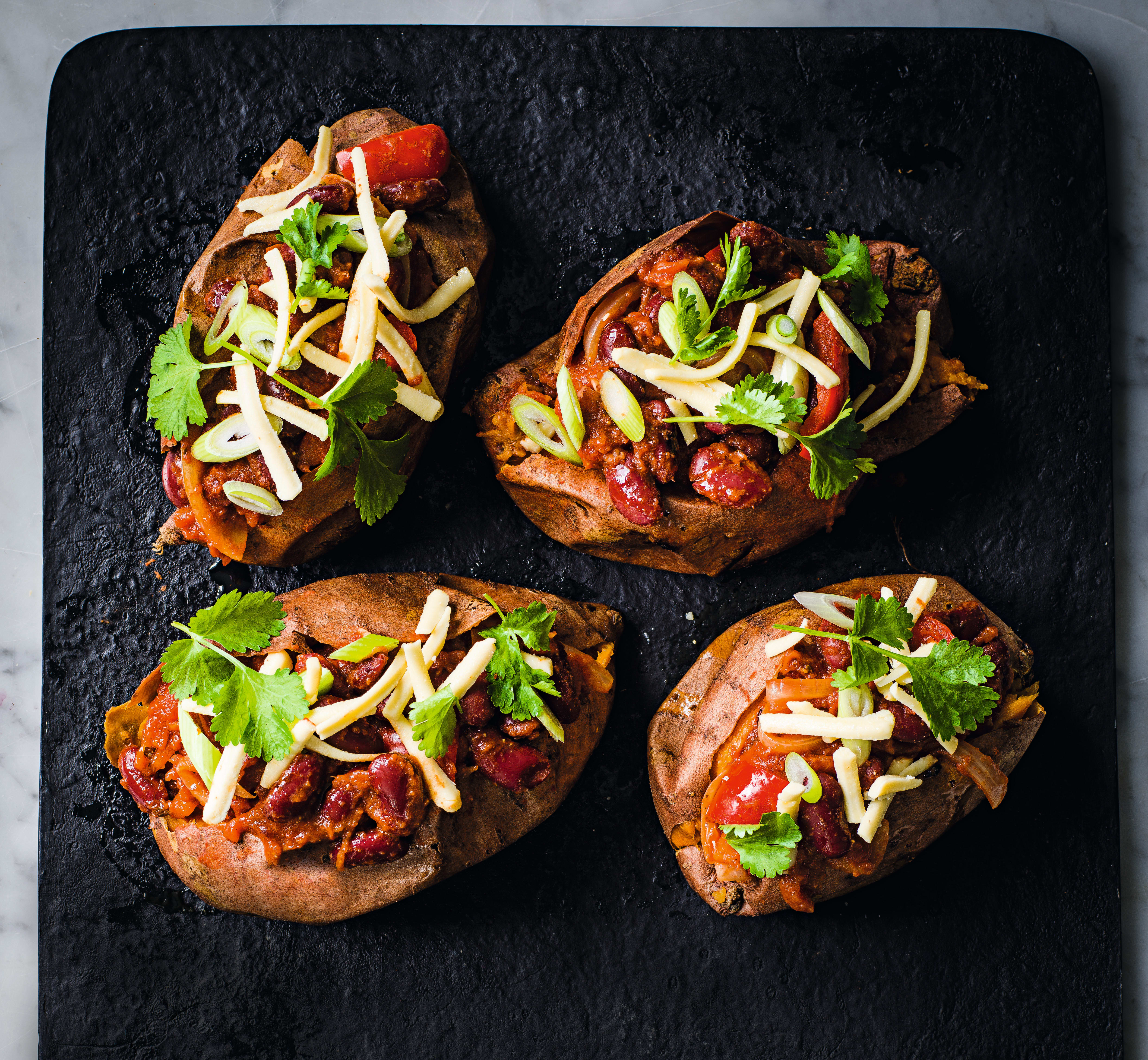 Photo of Baked sweet potatoes with chilli by WW