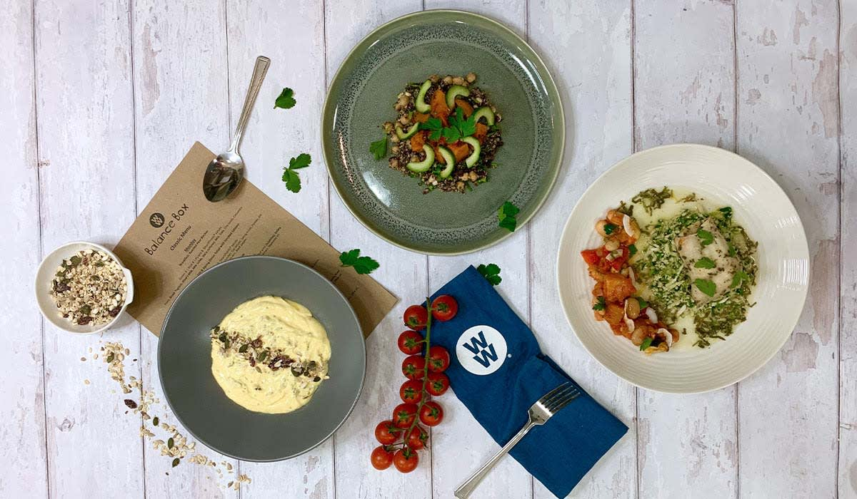 Photo of Chilli lentil pot with spiced cod  -Balance Box by WW