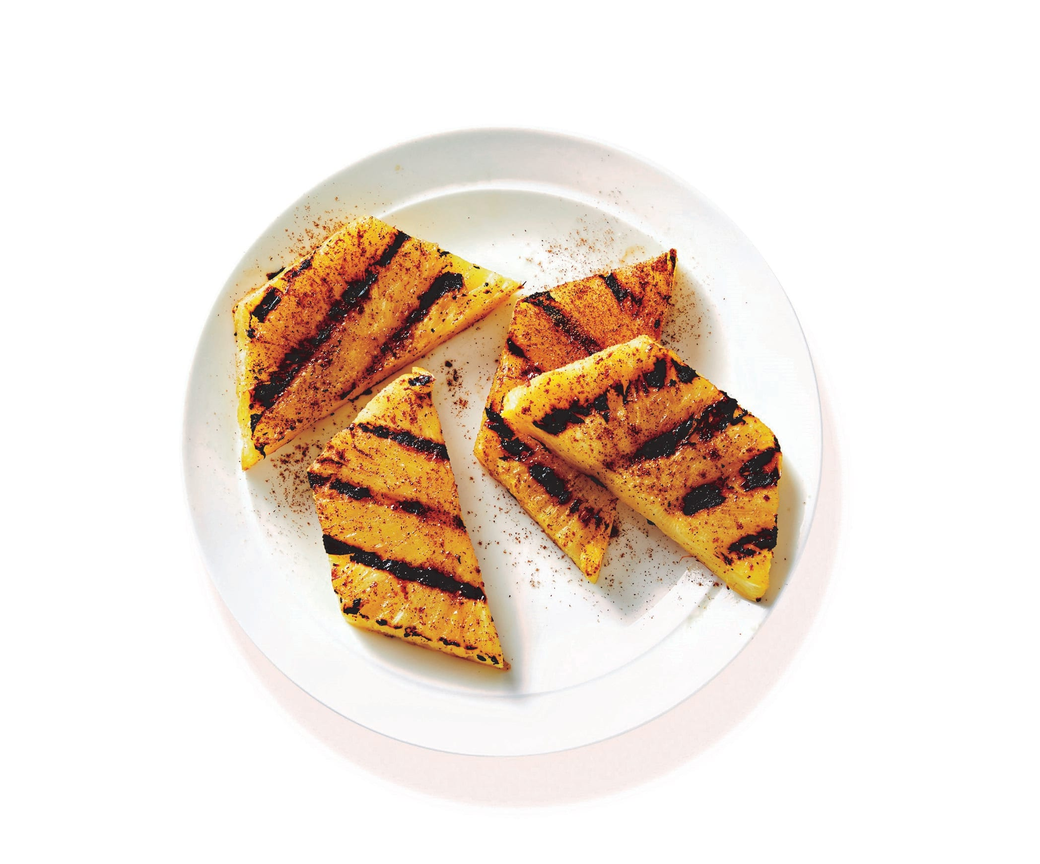 Photo of Spiced barbecued pineapple by WW