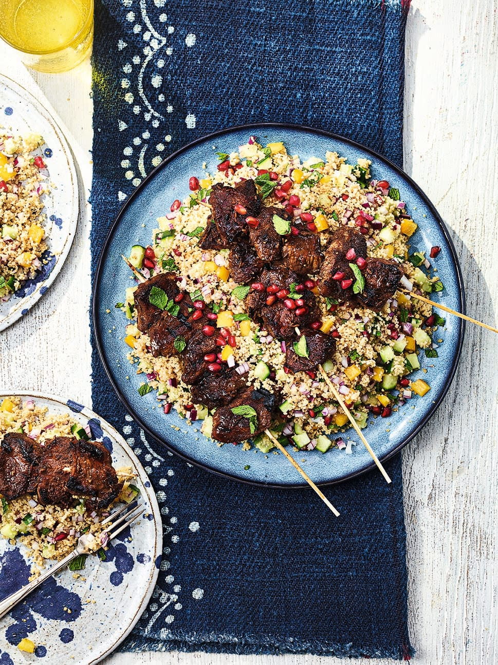 Photo of Turkish-style lamb skewers with couscous by WW