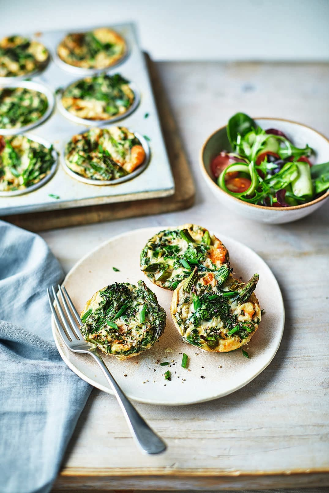 Photo of Green goddess egg muffins by WW