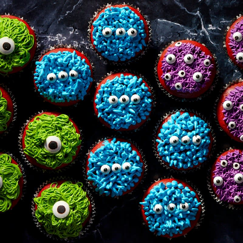Photo of Halloween monster cupcakes by WW