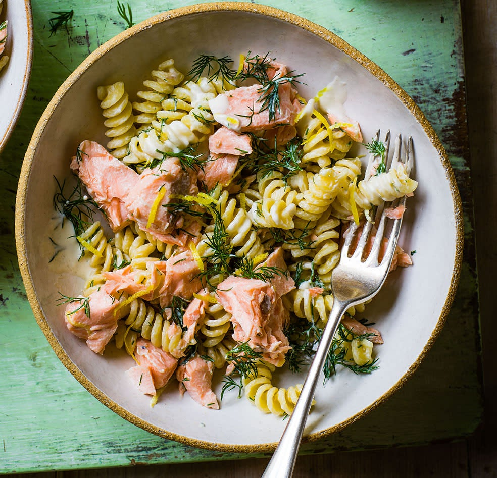 Photo of Salmon & dill pasta by WW