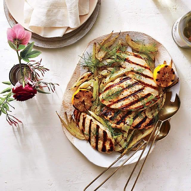 Photo of Lemon chicken with warm fennel salad by WW