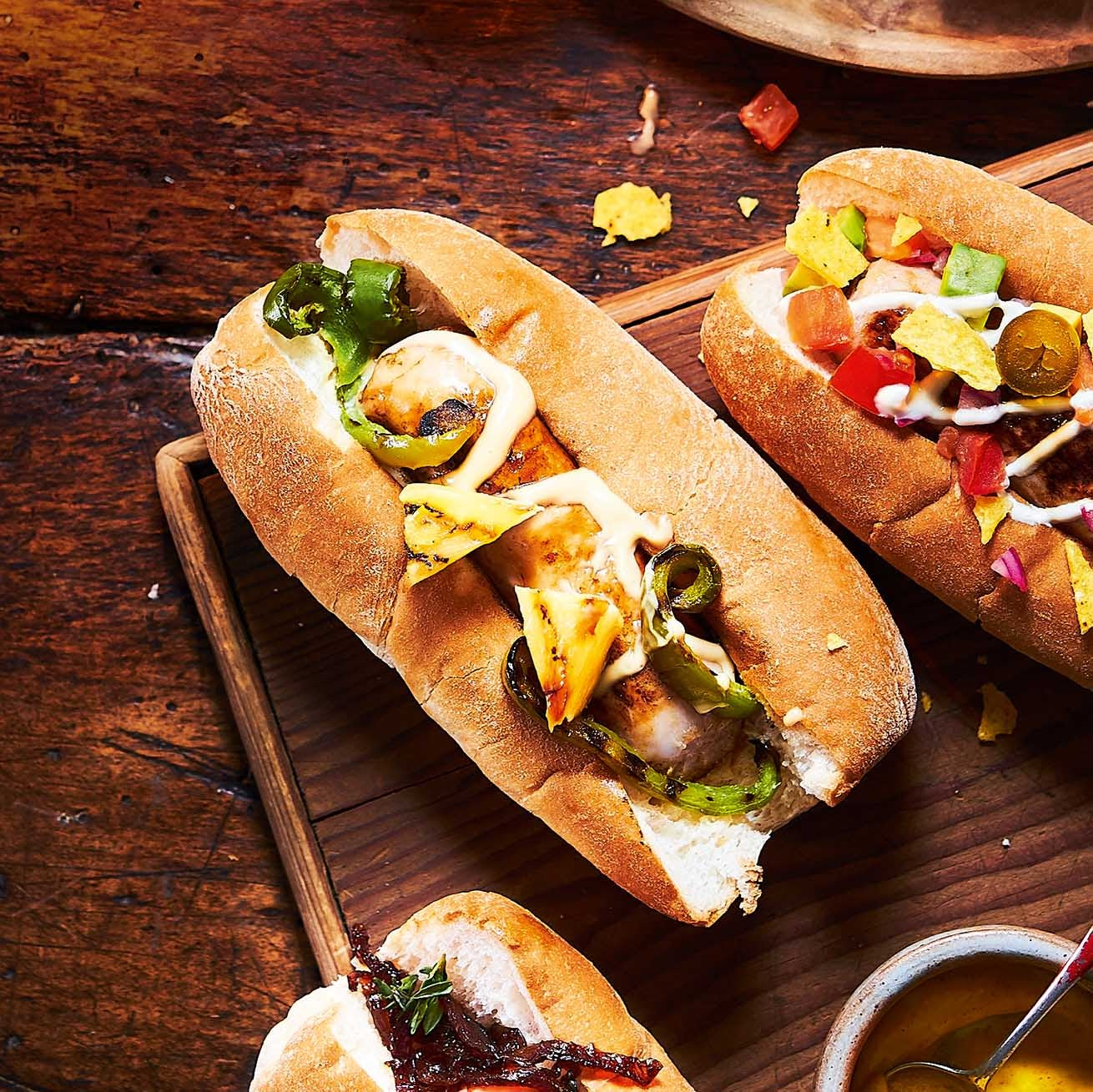 Photo of Hawaiian-style hot dogs by WW