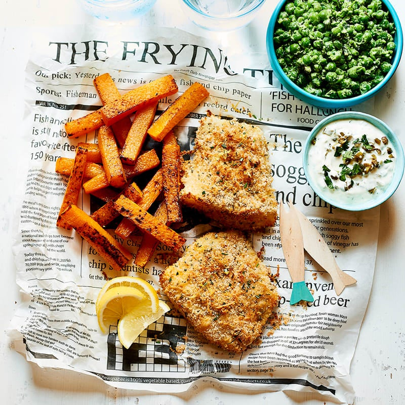 Photo of Healthier fish & chips by WW
