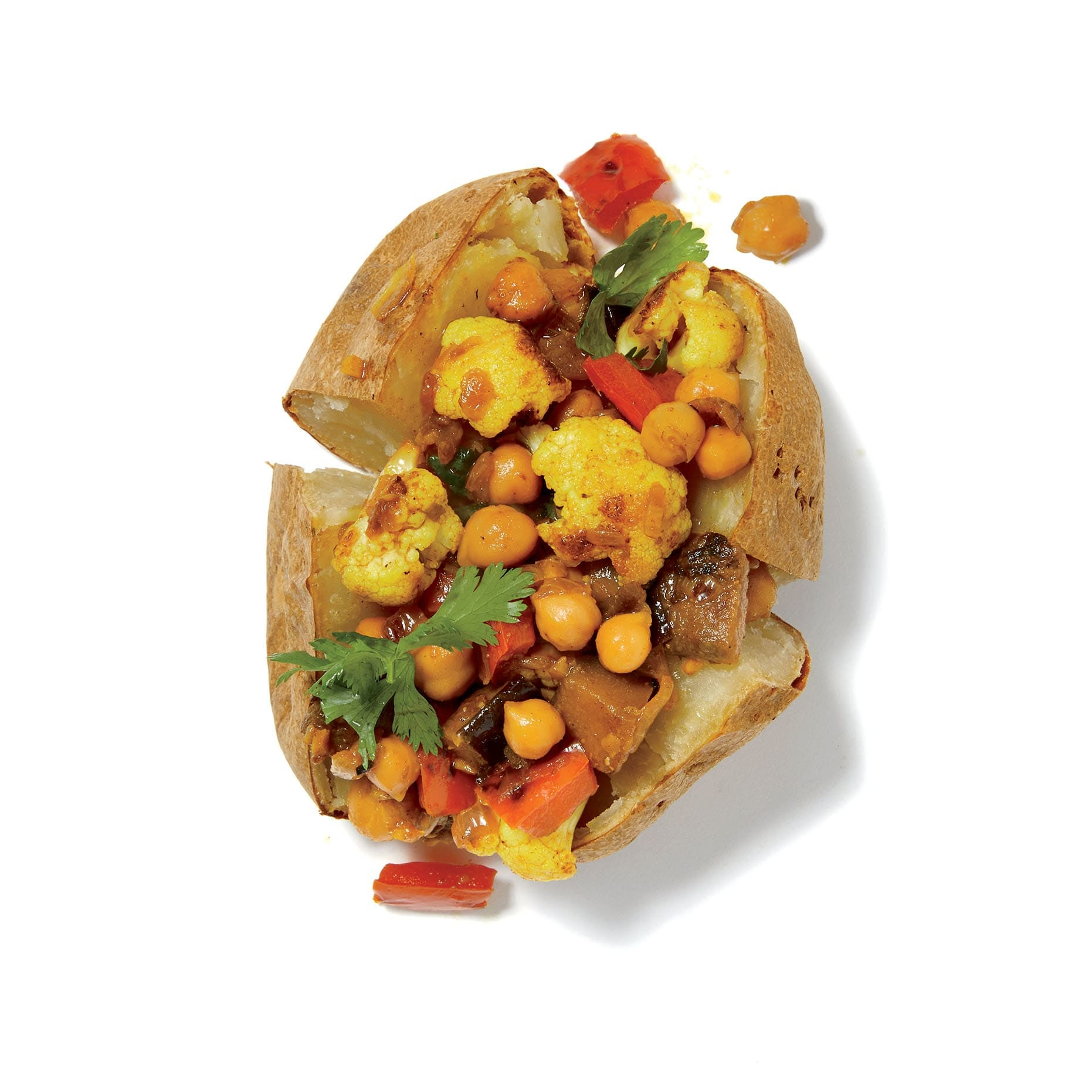 Photo of Vegetable curry jacket potatoes by WW