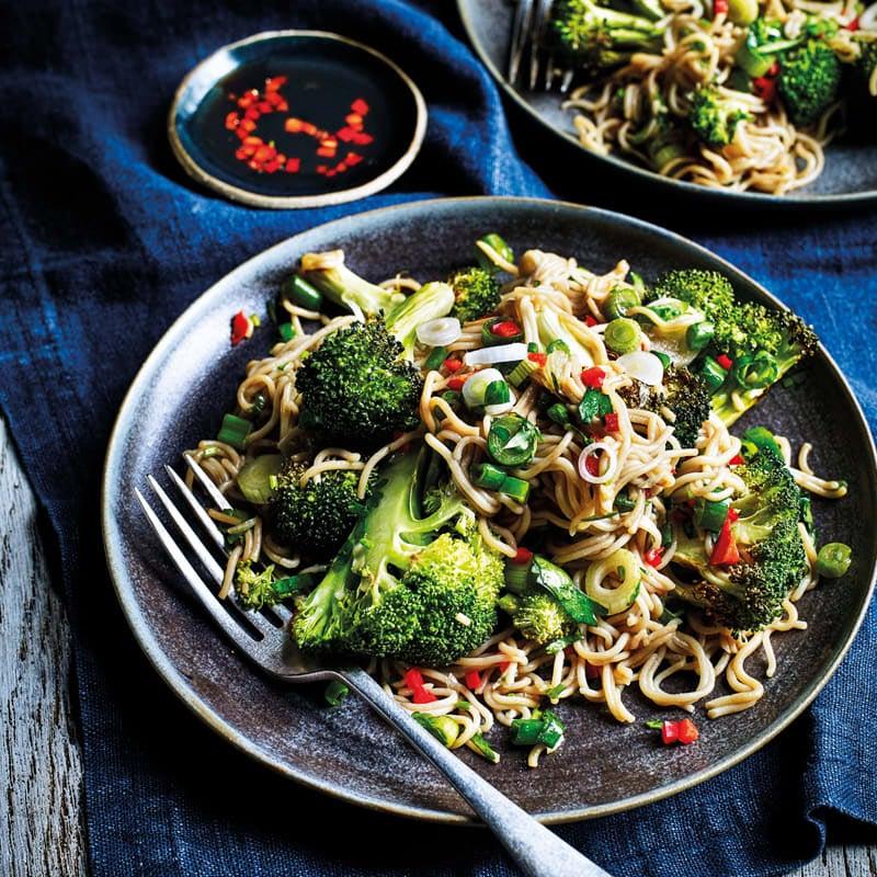 Photo of Roasted broccoli & soba noodle salad by WW