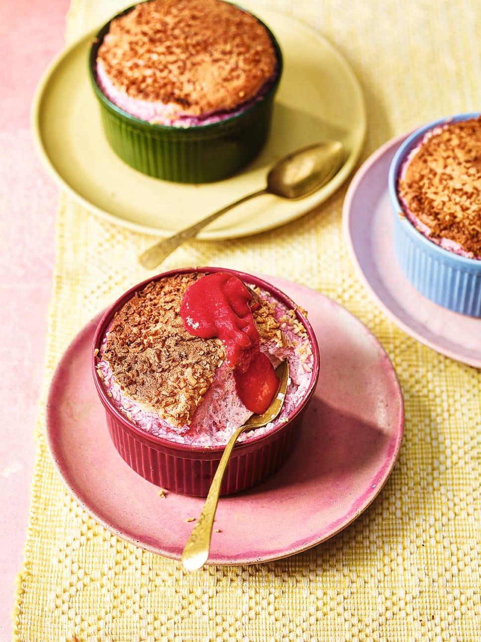 Photo of Raspberry & coconut soufflés by WW