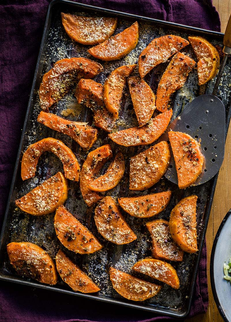 Photo of Butternut squash wedges by WW