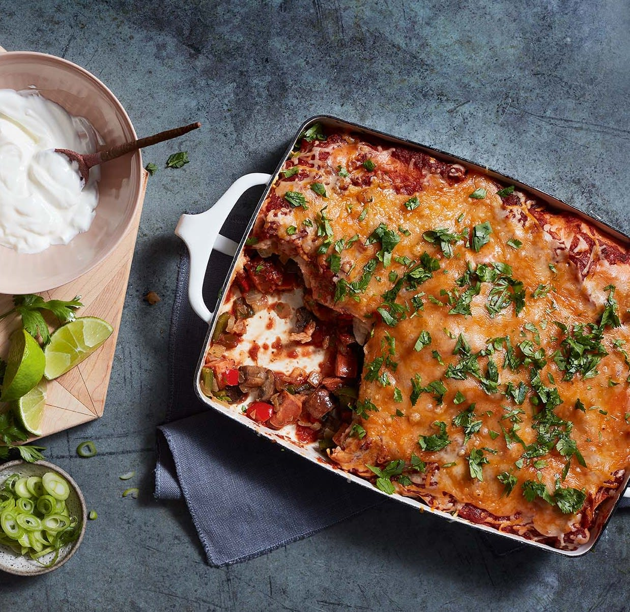 Photo of Chorizo & veggie enchiladas by WW