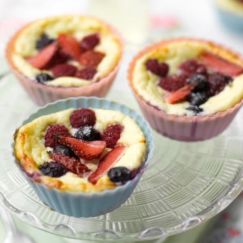 Photo of Mini berry cheesecakes by WW